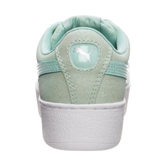Vikky Platform Glitz Sneaker Kinder, mint, zoom bei OUTFITTER Online
