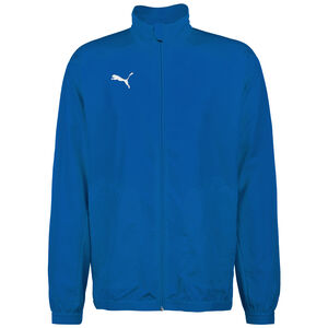 Liga Sideline Trainingsjacke Herren, blau / weiß, zoom bei OUTFITTER Online