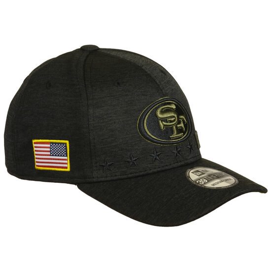 39Thirty NFL Salute to Service San Francisco 49ers Cap, schwarz, zoom bei OUTFITTER Online