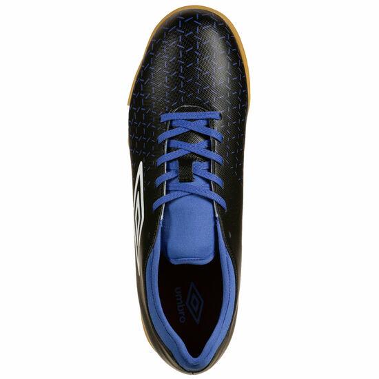 Velocita V Club Indoor Fußballschuh Herren, schwarz / blau, zoom bei OUTFITTER Online