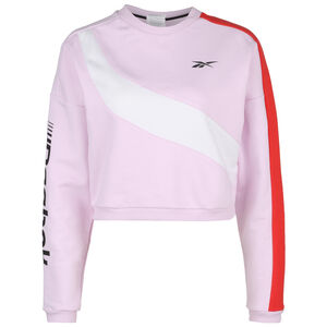Workout Ready Meet You There Trainingssweat Damen, rosa / weiß, zoom bei OUTFITTER Online