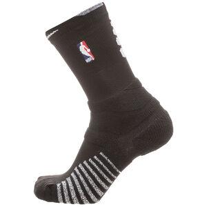 Grip Power Crew NBA Socken, schwarz / weiß, zoom bei OUTFITTER Online
