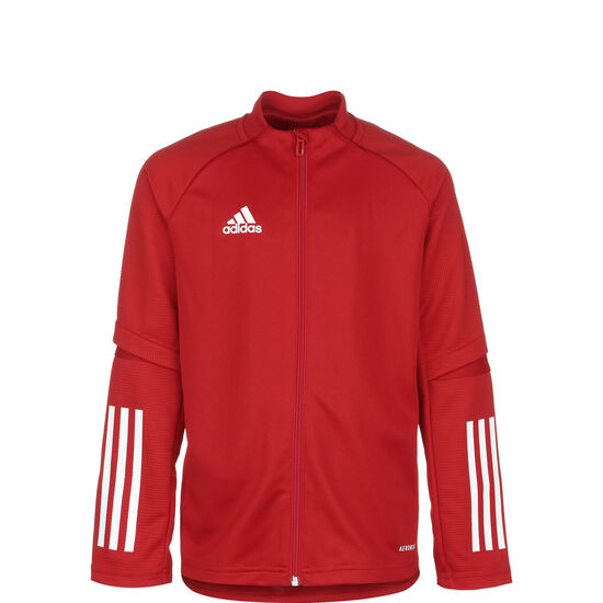 Condivo 20 Trainingsjacke Kinder, rot / weiß, zoom bei OUTFITTER Online