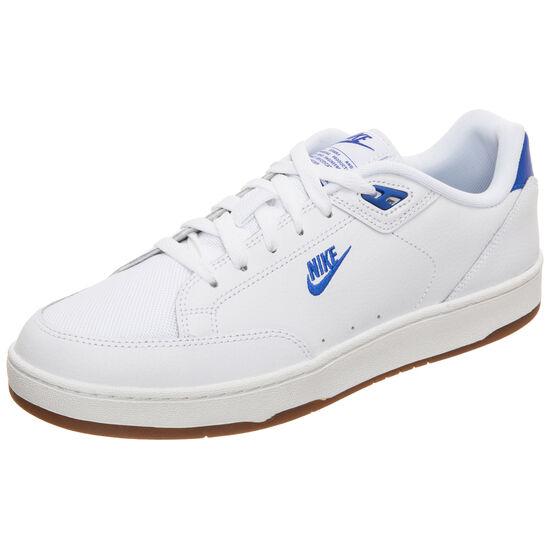 Grandstand II Premium Sneaker Herren, weiß / blau, zoom bei OUTFITTER Online
