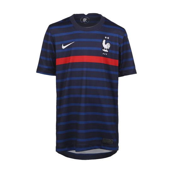 Frankreich Trikot Home Stadium EM 2021 Kinder, dunkelblau / rot, zoom bei OUTFITTER Online