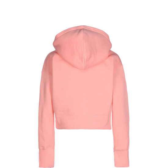 Cropped Kapuzenpullover Kinder, korall, zoom bei OUTFITTER Online