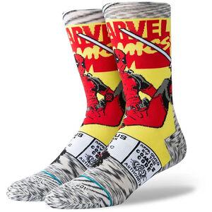 Deadpool Comic Socken, grau / rot, zoom bei OUTFITTER Online