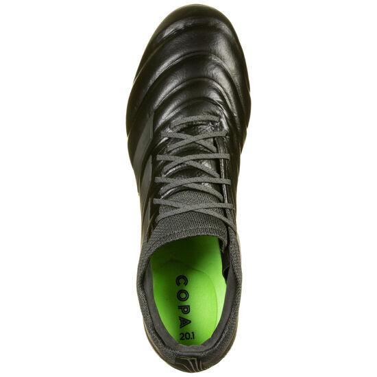 Copa 20.1 FG Fußballschuh Herren, schwarz / grün, zoom bei OUTFITTER Online