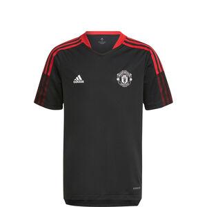 Manchester United Trainingsshirt Kinder, schwarz / rot, zoom bei OUTFITTER Online