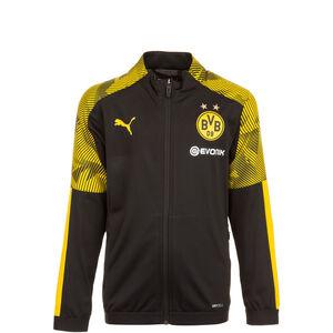 Borussia Dortmund Poly Trainingsjacke Kinder, schwarz / gelb, zoom bei OUTFITTER Online