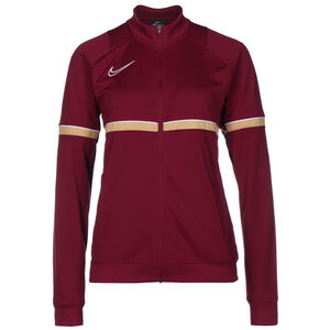 Academy 21 Dry Trainingsjacke Damen, rot / gold, zoom bei OUTFITTER Online