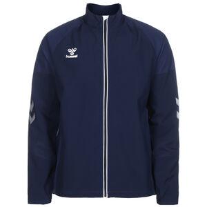 hmlLEAD Trainingsjacke Herren, dunkelblau / weiß, zoom bei OUTFITTER Online