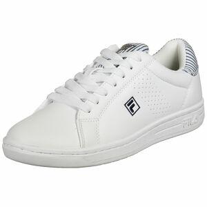 Crosscourt 2 NT Sneaker Damen, weiß / dunkelblau, zoom bei OUTFITTER Online