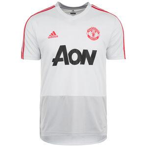 Manchester United Trainingsshirt Herren, hellgrau / rot, zoom bei OUTFITTER Online