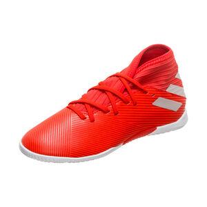 Nemeziz 19.3 Indoor Fußballschuh Kinder, rot / silber, zoom bei OUTFITTER Online