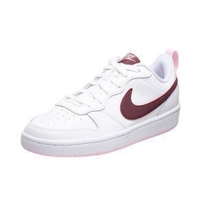 Court Borough Low 2 Sneaker Herren, weiß / rot, zoom bei OUTFITTER Online