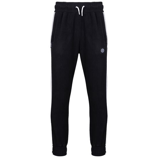 DMWU Patch Fleece Jogginghose Herren, schwarz / hellgrau, zoom bei OUTFITTER Online