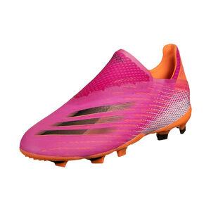X Ghosted+ FG Fußballschuh Kinder, pink / orange, zoom bei OUTFITTER Online