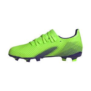 X Ghosted.3 FG Fußballschuh Kinder, hellgrün / blau, zoom bei OUTFITTER Online