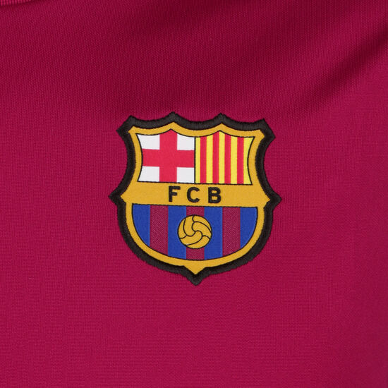 FC Barcelona Strike Trainingstank Herren, dunkelrot / gelb, zoom bei OUTFITTER Online