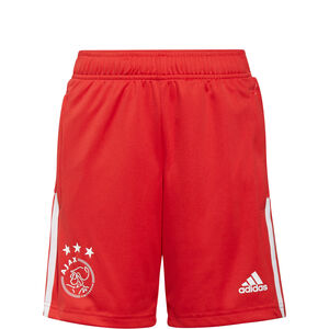 Ajax Amsterdam Trainingsshorts Kinder, rot / weiß, zoom bei OUTFITTER Online