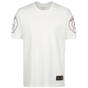 Paris St.-Germain Logo T-Shirt Herren, weiß, zoom bei OUTFITTER Online
