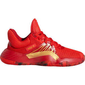D.O.N. Issue 1 Basketballschuhe Kinder, rot / gold, zoom bei OUTFITTER Online