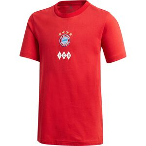FC Bayern München Graphic T-Shirt Kinder, rot / weiß, zoom bei OUTFITTER Online