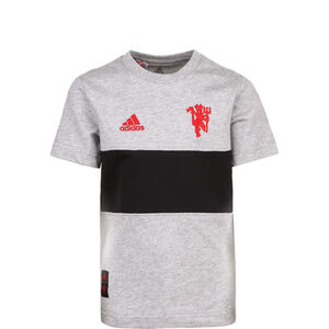 Manchester United Graphic T-Shirt Kinder, grau / schwarz, zoom bei OUTFITTER Online