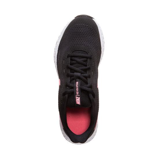 Revolution 5 Laufschuh Kinder, schwarz / rosa, zoom bei OUTFITTER Online