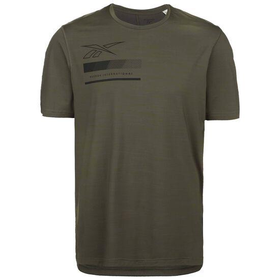 Activchill Graphic Move Trainingsshirt Herren, dunkelgrün / grün, zoom bei OUTFITTER Online