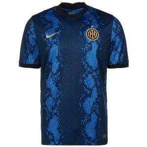Inter Mailand Trikot Home Stadium 2021/2022 Herren, blau / gold, zoom bei OUTFITTER Online