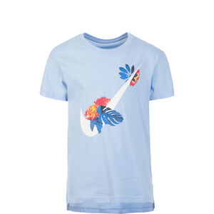 Glow Swoosh T-Shirt Kinder, hellblau, zoom bei OUTFITTER Online