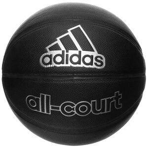 All-Court Basketball, schwarz / silber, zoom bei OUTFITTER Online