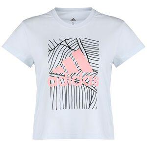 Adi Vibes Trainingsshirt Damen, dunkelblau / rosa, zoom bei OUTFITTER Online