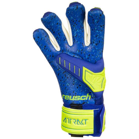 Attrakt Freegel G3 Fusion Ortho-Tec LTD Torwarthandschuh Herren, neongelb / blau, zoom bei OUTFITTER Online