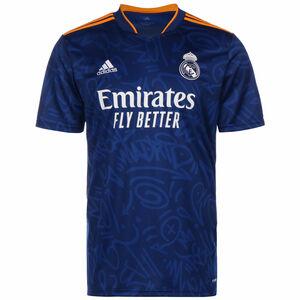 Real Madrid Trikot Away 2021/2022 Herren, blau / dunkelgelb, zoom bei OUTFITTER Online