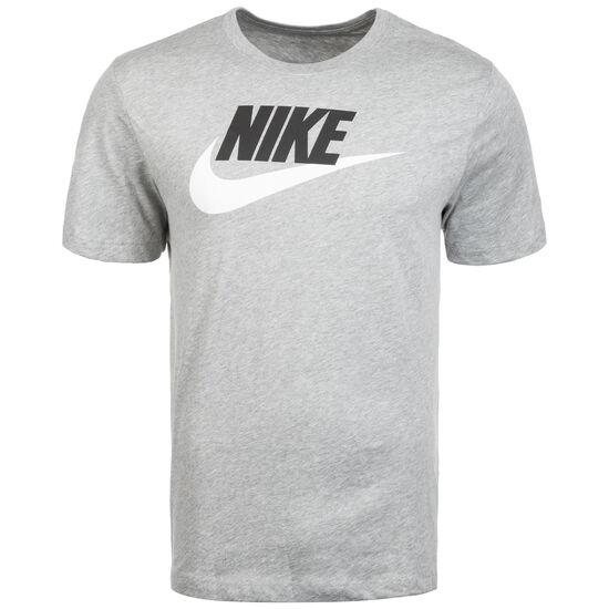 Icon Futura T-Shirt Herren, grau / schwarz, zoom bei OUTFITTER Online