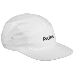 Paris St.-Germain AW84 Cap, weiß / dunkelblau, zoom bei OUTFITTER Online