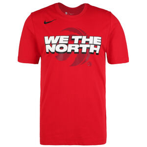 NBA Toronto Raptors Mantra Dry T-Shirt Herren, rot / weiß, zoom bei OUTFITTER Online