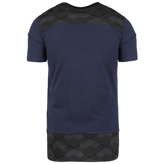 FIGC Italien Casuals T-Shirt EM 2021 Herren, dunkelblau / anthrazit, zoom bei OUTFITTER Online