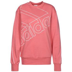 Giant Logo Sweatshirt Damen, rosa / weiß, zoom bei OUTFITTER Online