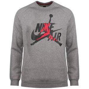 Jordan Jumpman Classics Crew Sweatshirt Herren, grau / schwarz, zoom bei OUTFITTER Online