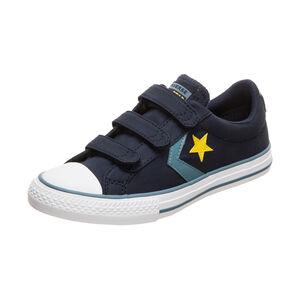 Star Player 3V OX Sneaker Kinder, dunkelblau / gelb, zoom bei OUTFITTER Online