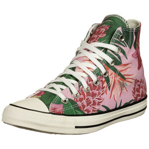 Chuck Taylor All Star High Sneaker, rosa / grün, zoom bei OUTFITTER Online