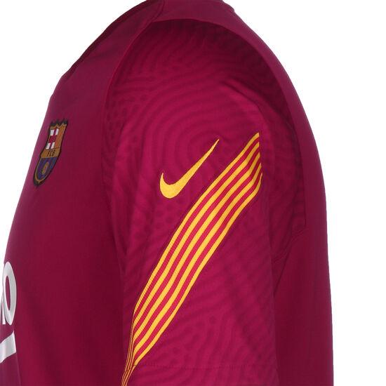 FC Barcelona Breathe Strike Trainingsshirt Herren, rot / gelb, zoom bei OUTFITTER Online