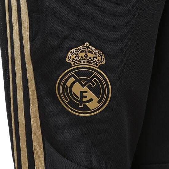 Real Madrid Trainingshose Kinder, schwarz / gold, zoom bei OUTFITTER Online