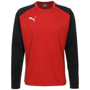TeamLIGA Trainingssweat Herren, rot / schwarz, zoom bei OUTFITTER Online