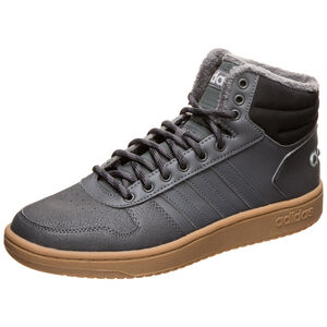 Hoops Mid 2.0 Sneaker Herren, grau / schwarz, zoom bei OUTFITTER Online