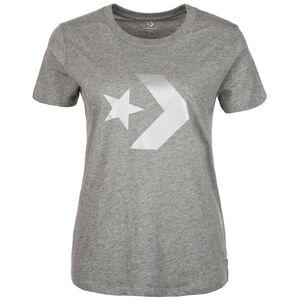 Star Chevron Metallic Crew T-Shirt Damen, grau, zoom bei OUTFITTER Online